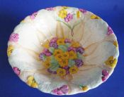 Superb Grimwades Royal Winton Cream 'Primula' Large Salad Bowl c1935 (Sold)